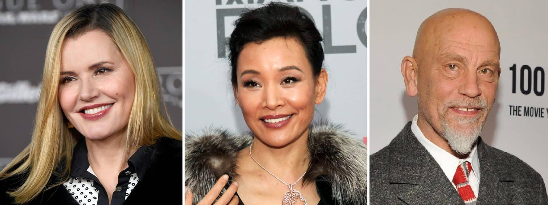 Geena Davis, Joan Cheng y John Malkovich se suman a Jessica Chastain en EVE de Voltage Pictures
