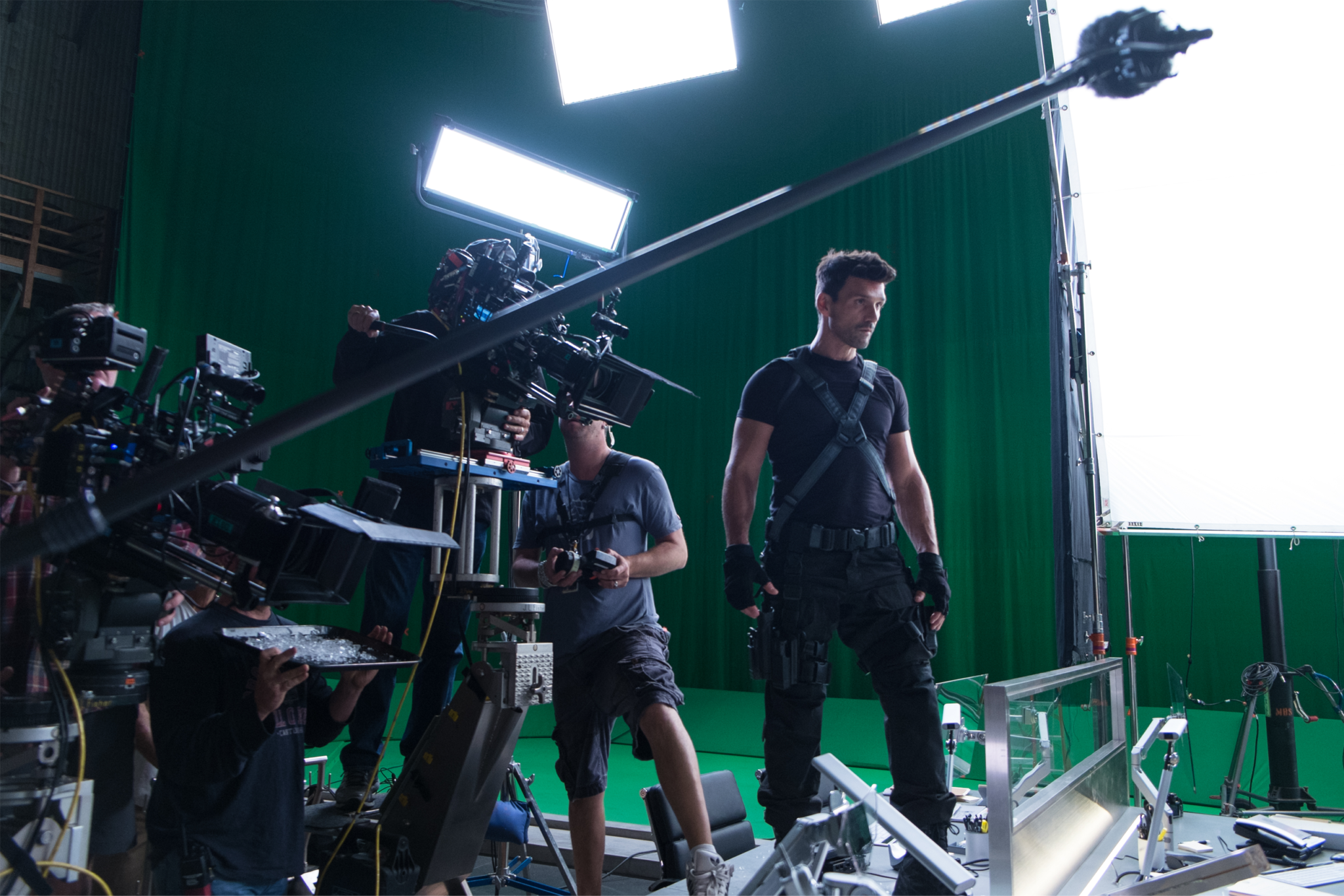 Cap America Production 3
