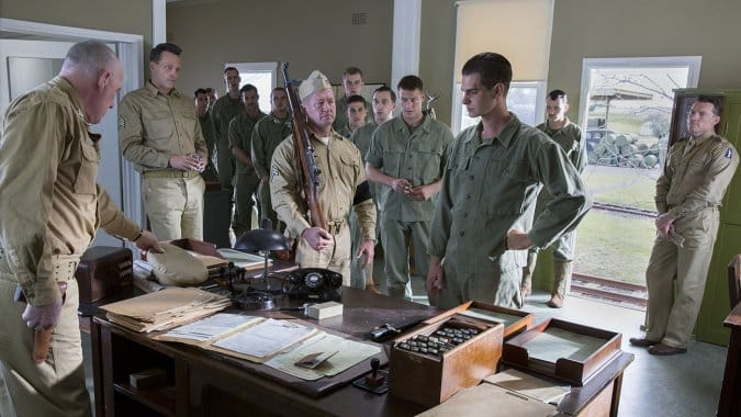 El drama bélico Hacksaw Ridge, dirigido por Mel Gibson y protagonizado por Andrew Garfield, dirá presente en el Festival de Cine de Venecia.