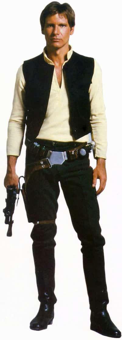 Han Solo fue interpretado por Harrison Ford