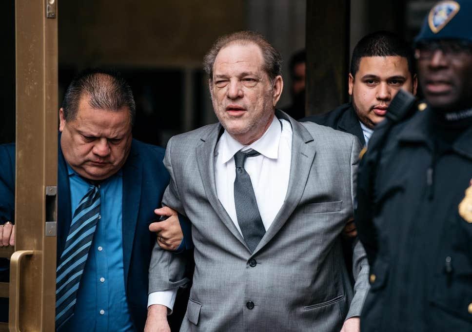Harvey Weinstein sentenciado a 23 años en prisión en el estado de Nueva York