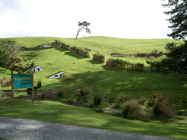 El hobbiton en Nueva Zelanda