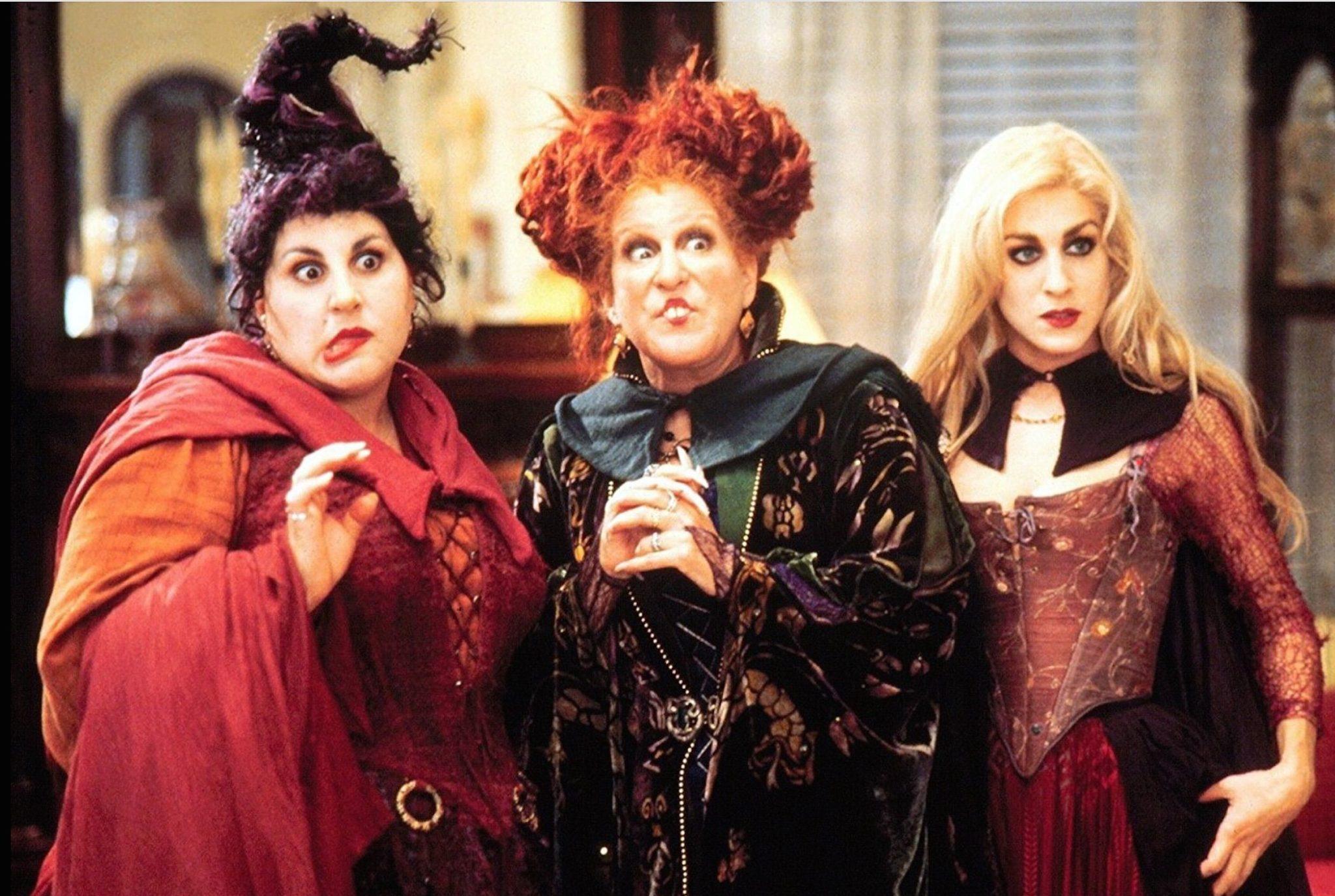 El trío original de Hocus Pocus se reúne para especial de Halloween 2020
