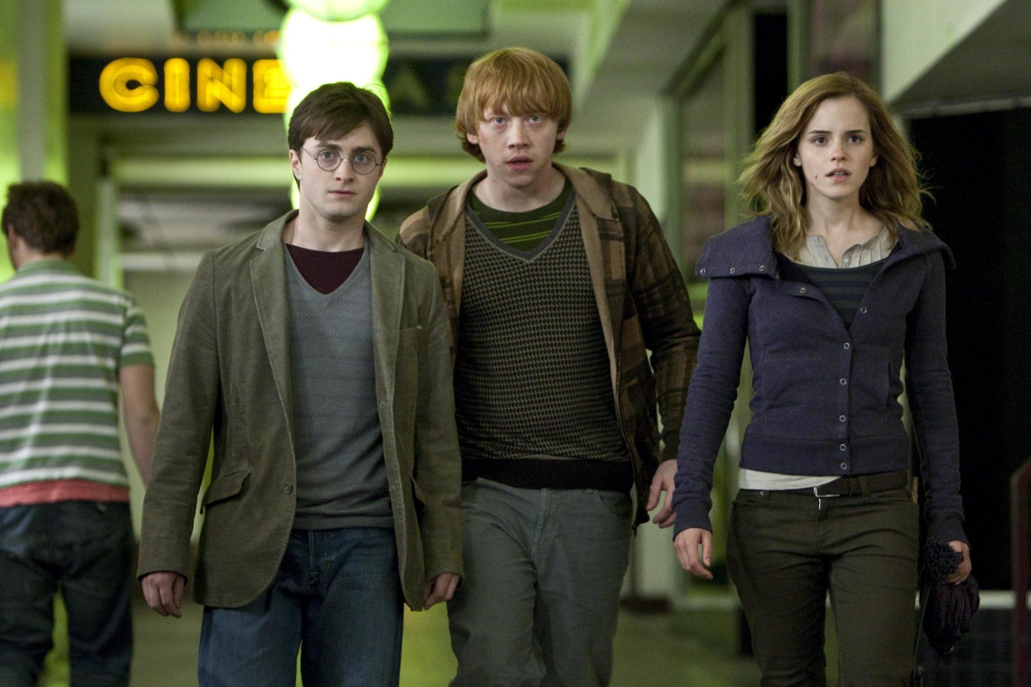 Primera imagen de Harry Potter and the Deathly Hallows
