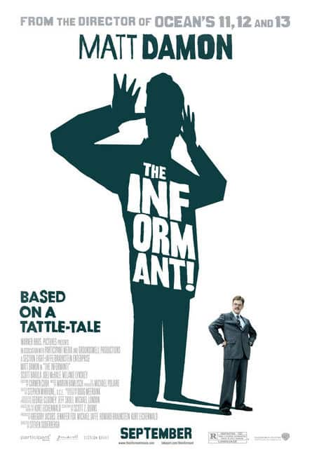 """Poster """"The Informant"""""""