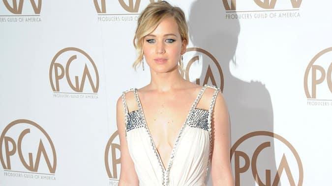 Jennifer Lawrence + Steven Spielberg