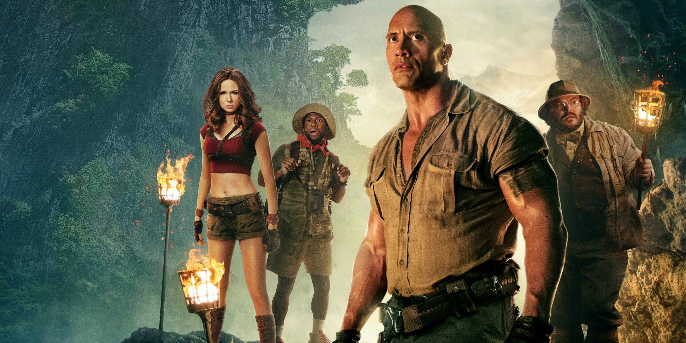 Jumanji: The Next Level libera emoción y aventura en el trailer final