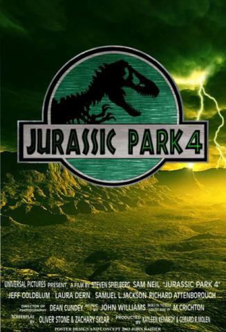 Jurassic Park 4 (poster fan-made)