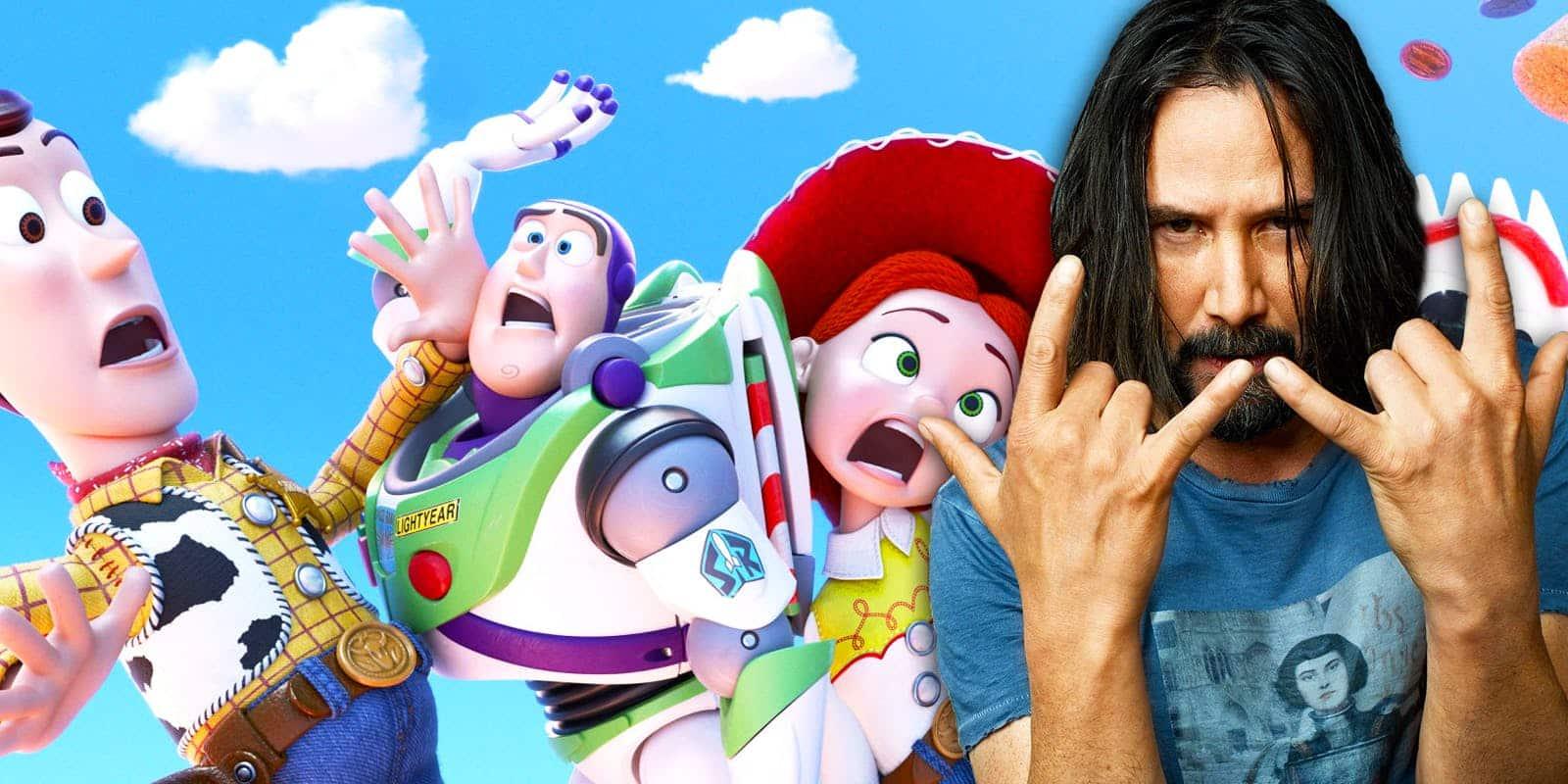 Keanu Reeves interpreta rol misterioso en Toy Story 4 de Disney Pixar
