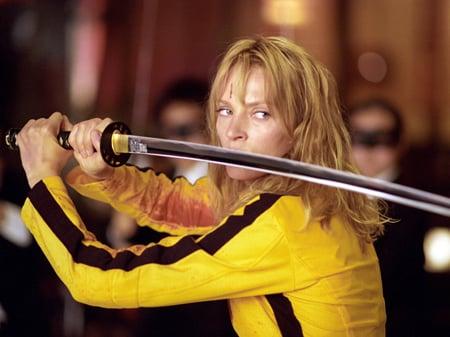 Uma Thurman en Kill Bill, de Quentin Tarantino