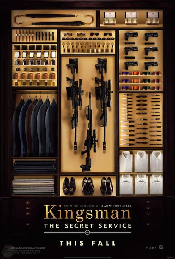 Kingsman: The Secret Service Póster