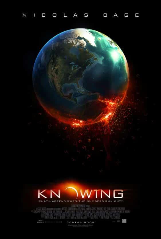 Poster de Knowing