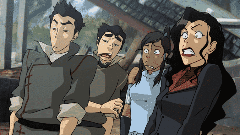 Legend of Korra sale del aire