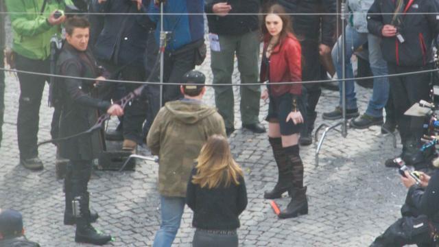 Hawkeye Scarlet Witch
