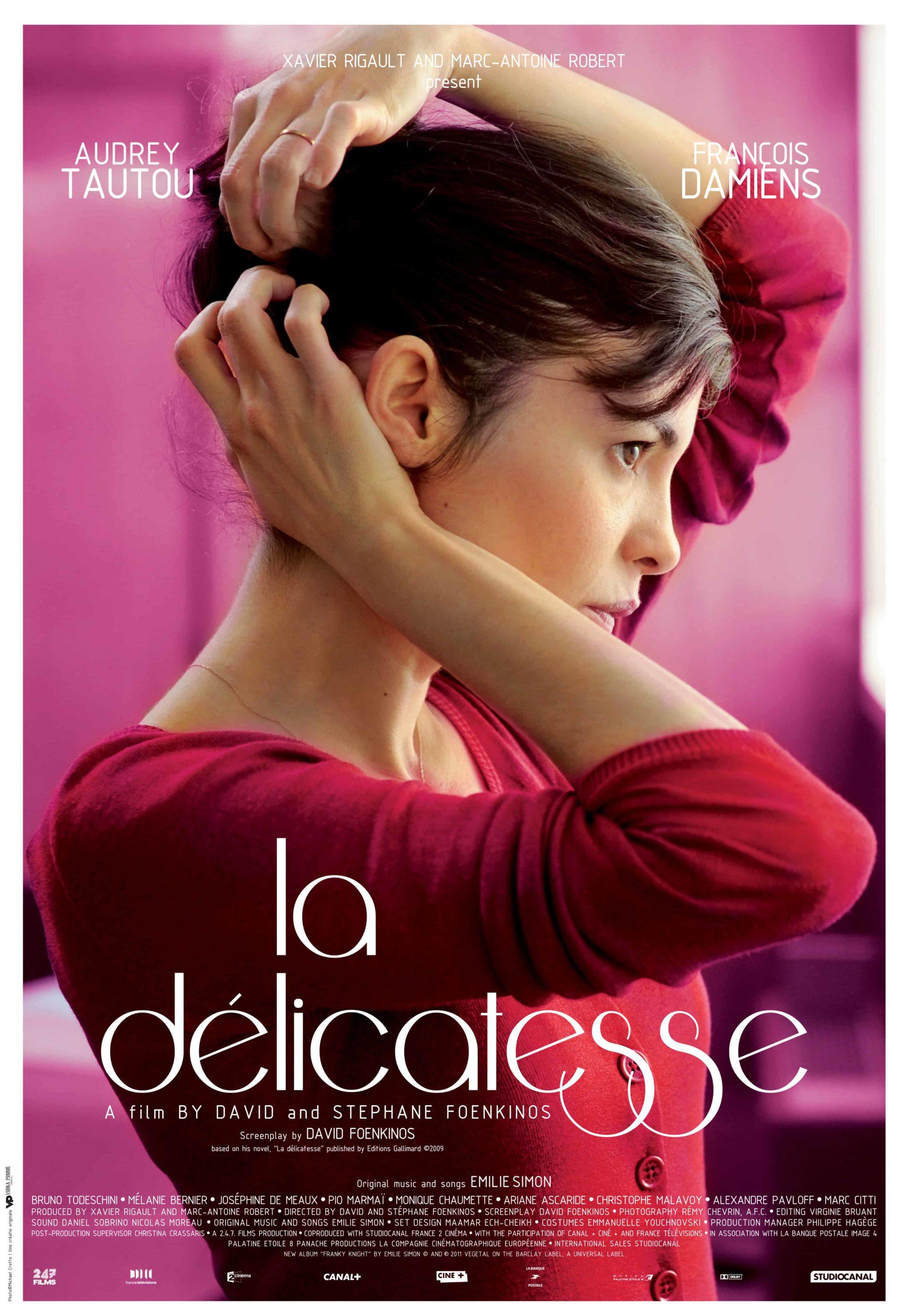 La delicadeza, Tour de cine frances