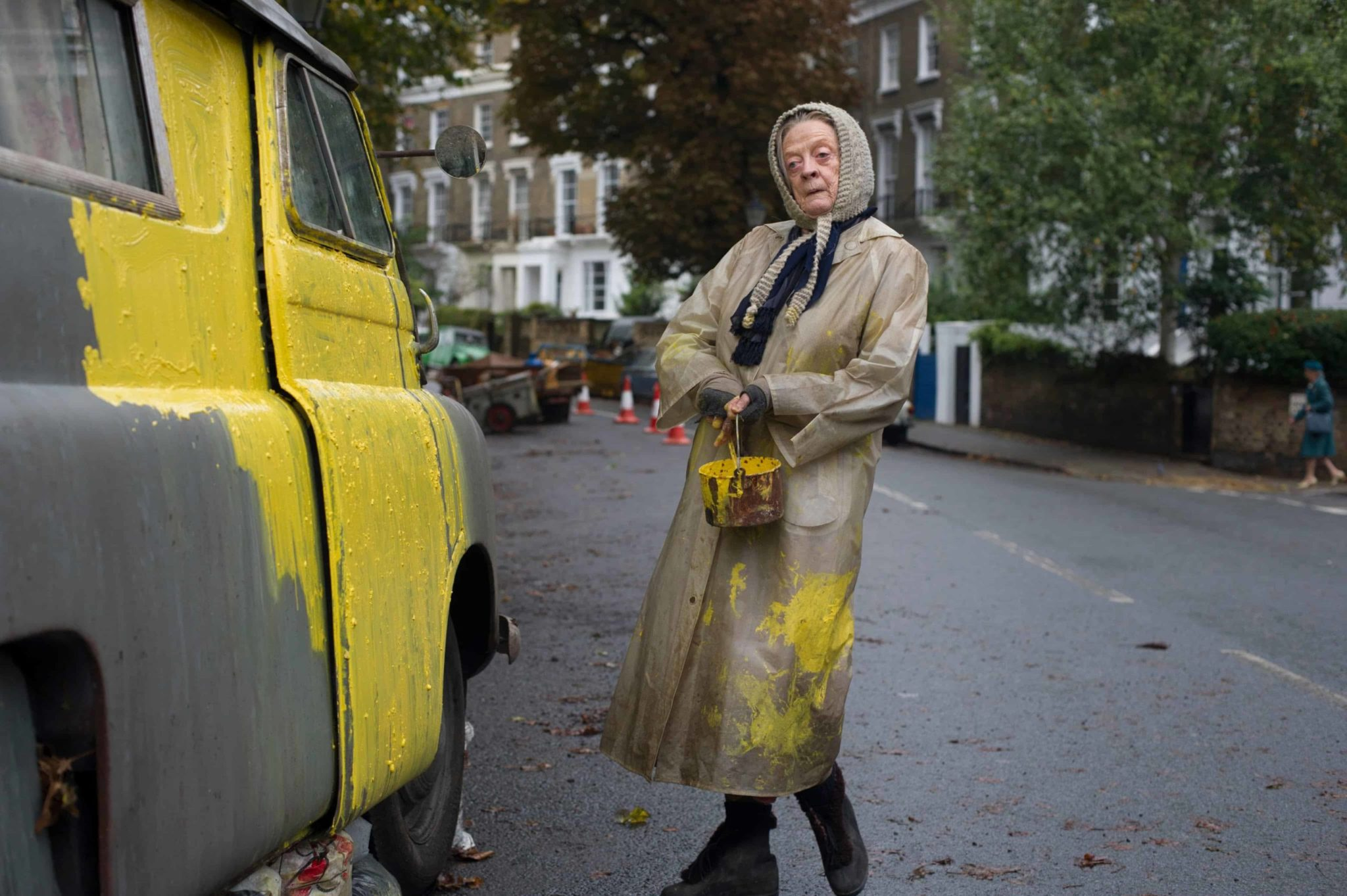 Maggie Smith en la cinta 'The Lady in the Van'. © 2015 - Sony Pictures Classics.