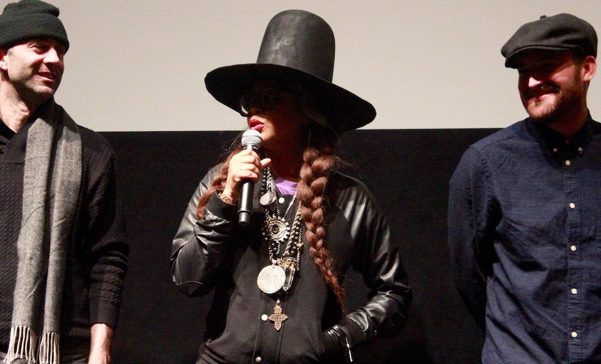 """Erykah Badu en la premiere de """"The Land"""" durante el Sundance Film Festival Photo Credit: Jason Bailey / Flavorwire"""