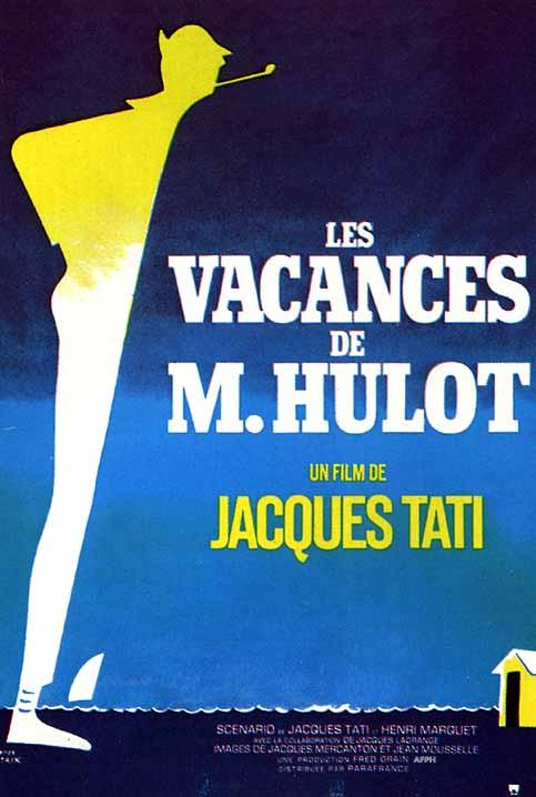 Cartel de Las Vacaciones del Señor Hulot