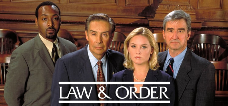 """Uno de los equipos de """"La Ley y el Orden"""""""