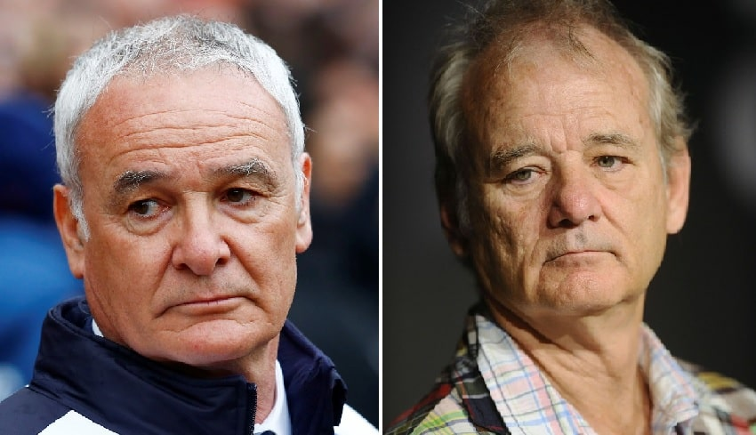 leicester-city-hollywood-claudio-ranieri-bill-murray