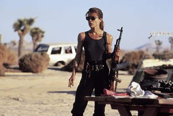 Sarah Connor en Terminator Salvation?