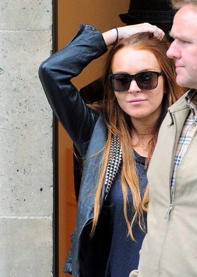 Lindsay Lohan el día del robo