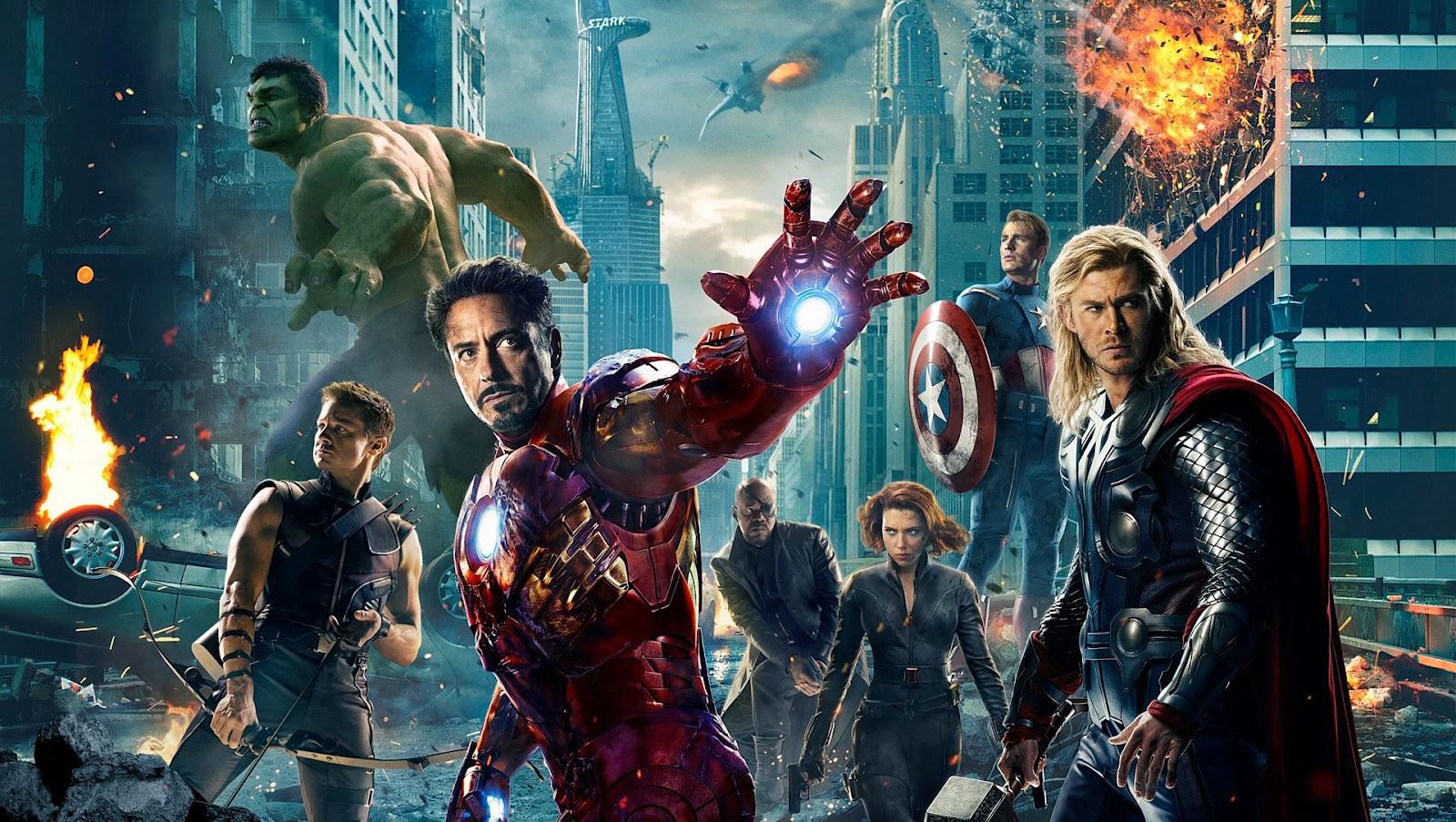 Avengers, Hulk, Iron-Man, Thor, Captain America, Cine3, Marvel
