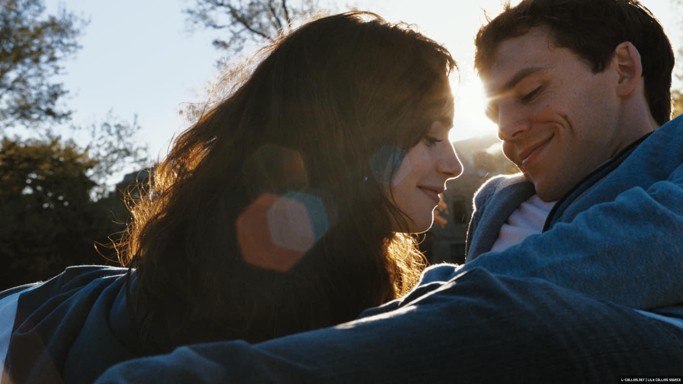 Lily Collins y Sam Claflin en 'Love, Rosie'. © 2014 - Relativity Studios