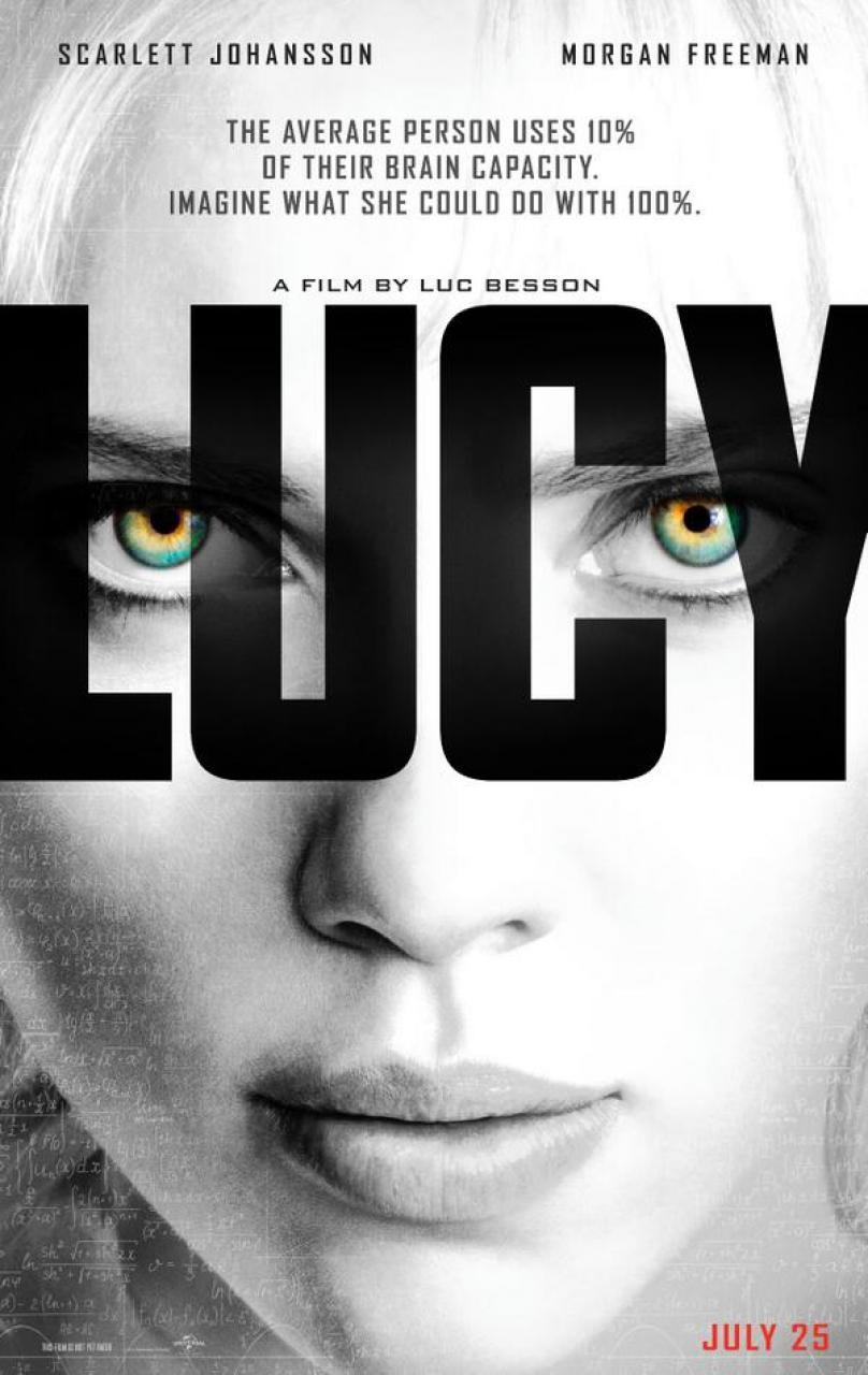 """El poster de """"Lucy"""" ha servido de inspiración para que """"Dumb and Dumber To"""" tengan otro tipo de promoción"""