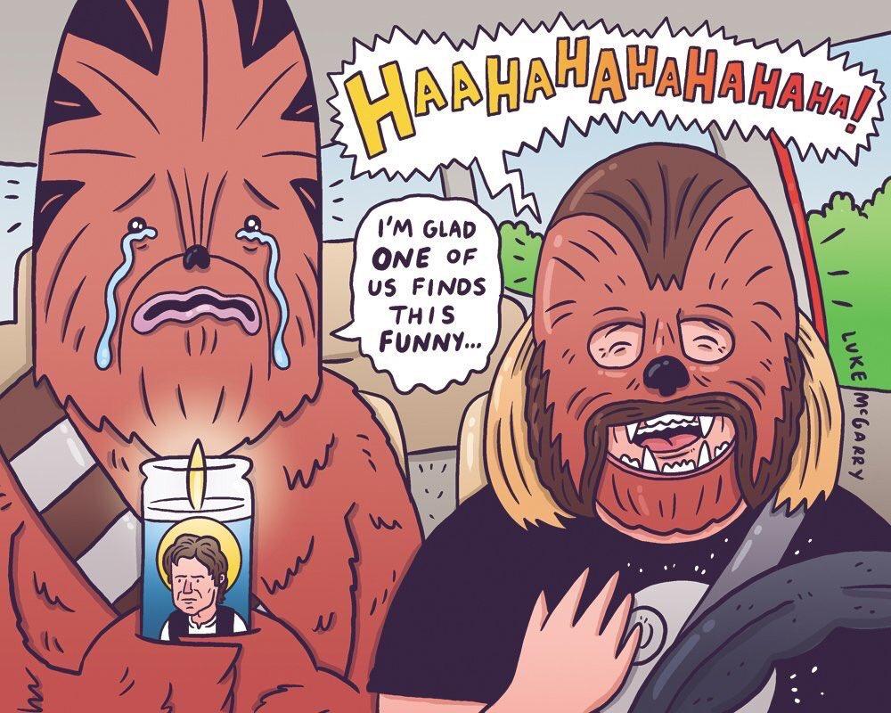 luke mcgarry chewbacca mom