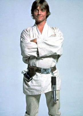 Mark Hamill fue Luke Skywalker