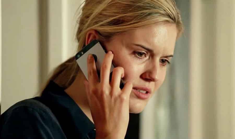 Maggie Grace durante una escena de Taken 3.