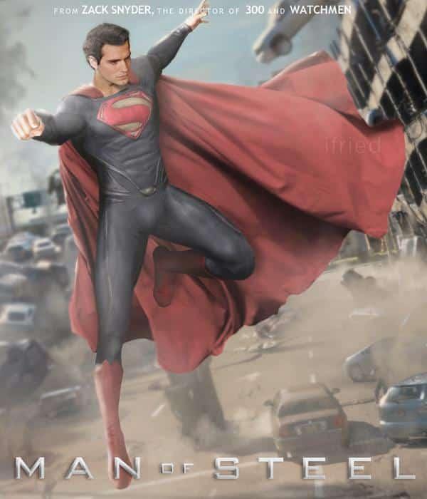 Man of steel, Fan made poster
