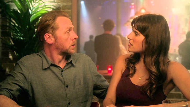 Simon Pegg y Lake Bell protagonizan la divertida comedia romántica 'Man Up'. © 2015 - StudioCanal Ltd. & BBC Films Ltd.