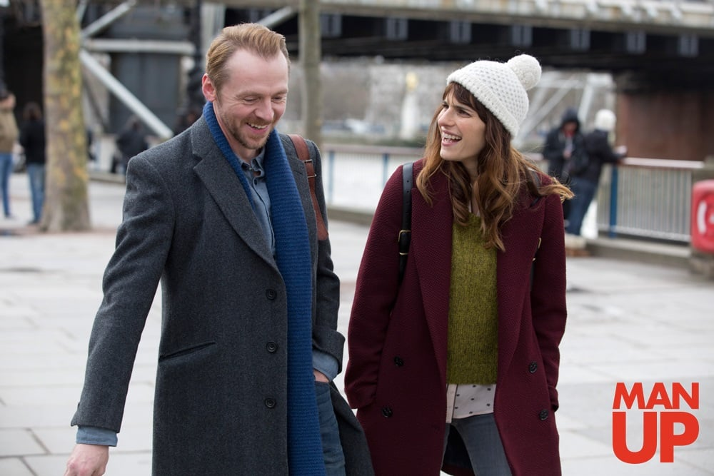 Simon Pegg y Lake Bell protagonizan la divertida comedia romántica, 'Man Up'.© 2015 - StudioCanal Ltd. & BBC Films Ltd.