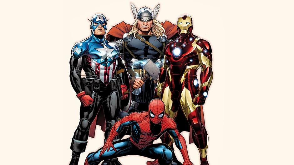 marvel-spiderman-cap-thor-ironman