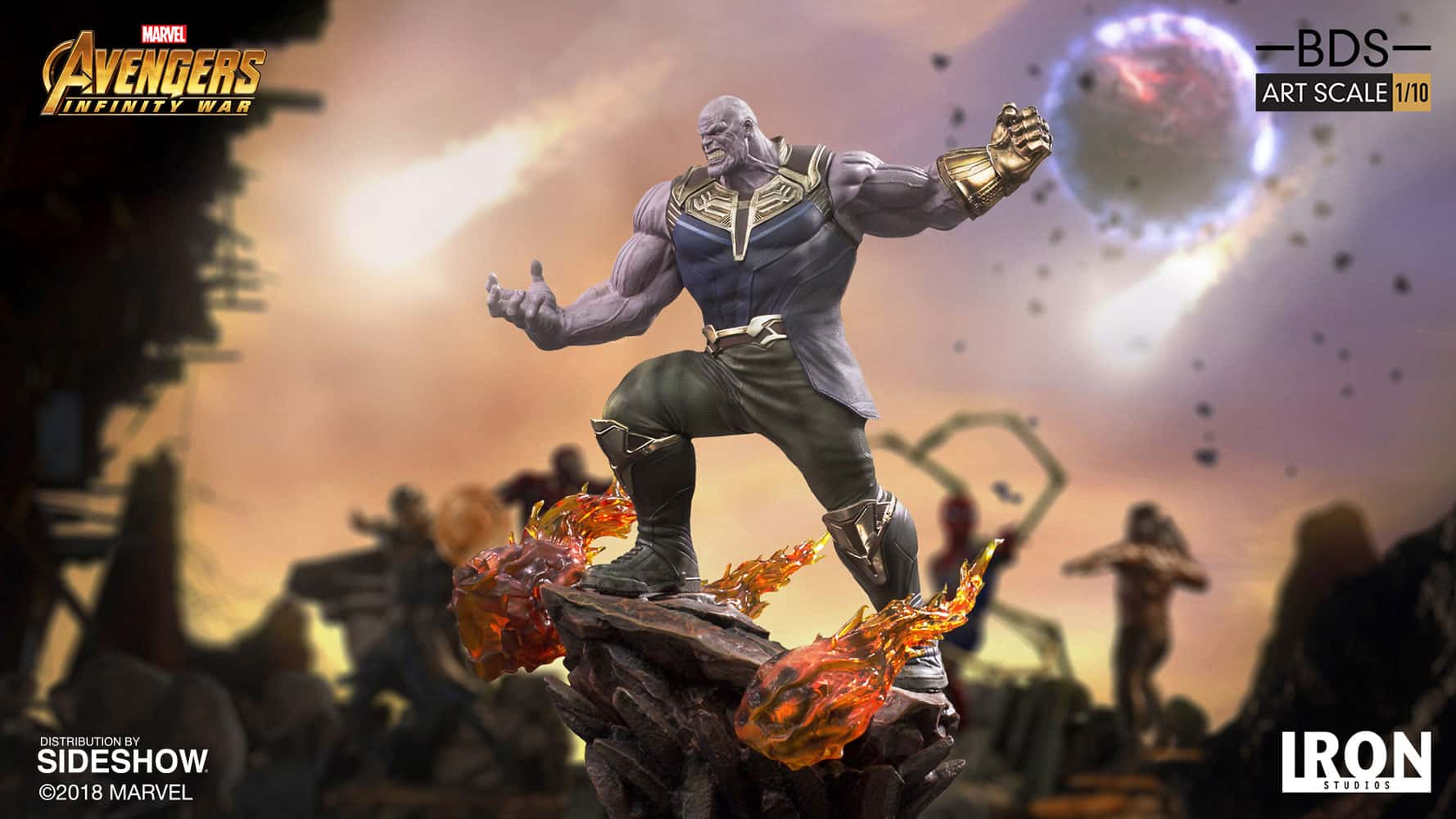 The Thanos Art Scale Statue