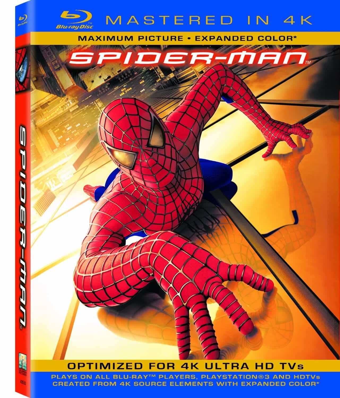 La saga de Spiderman ya se encuentra masterizada en 4K