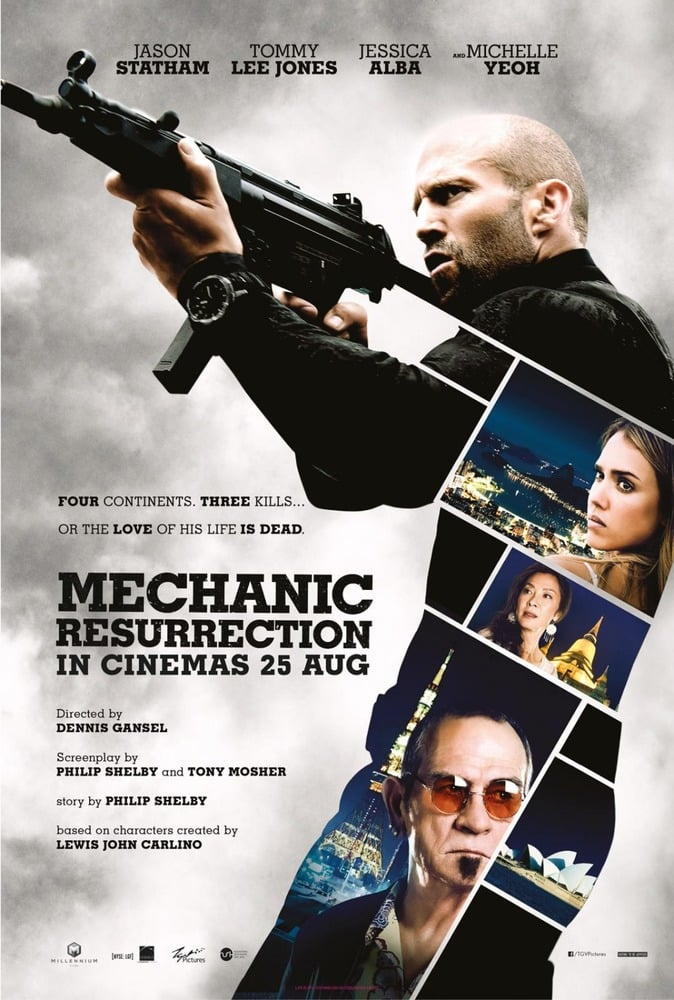 Poster para Mechanic: Resurrection