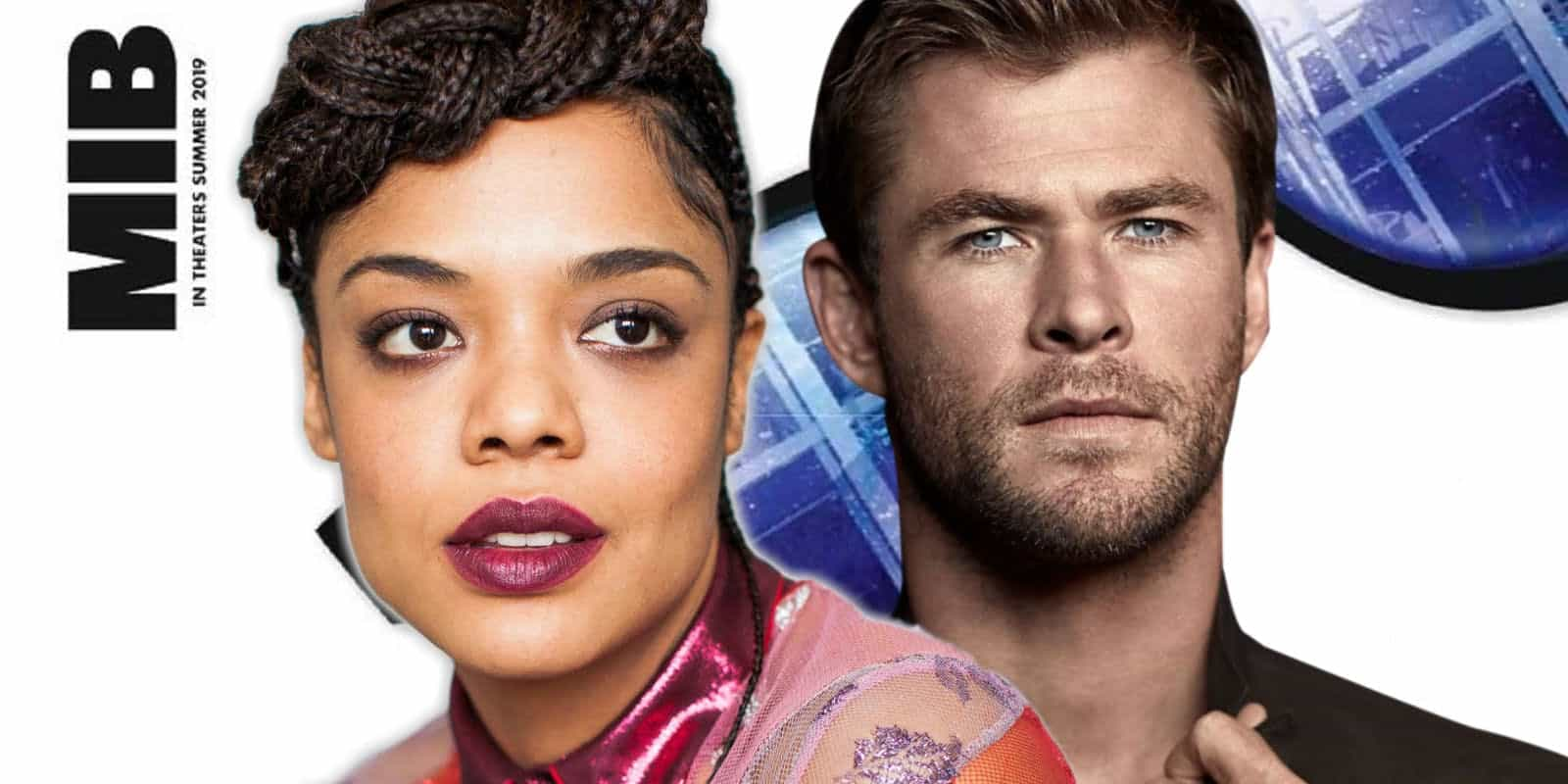 Men in Black International libera primera imagen oficial con Chris Hemsworth y Tessa Thompson sus protagonistas