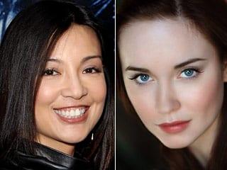 lindas actrices en una serie bien fumada