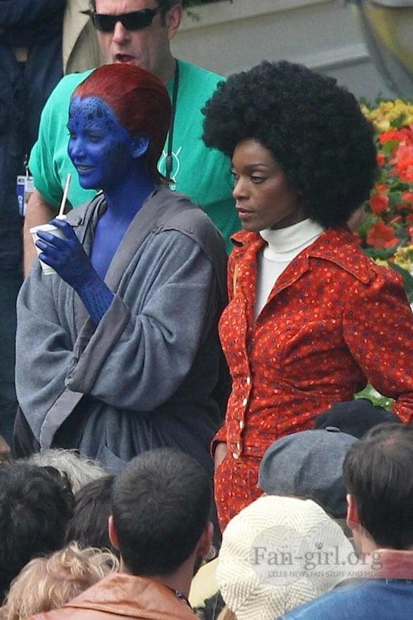 Mística (MISTIQUE) en X-Men, Days of Future Past / Imagen de Fan-girl.org