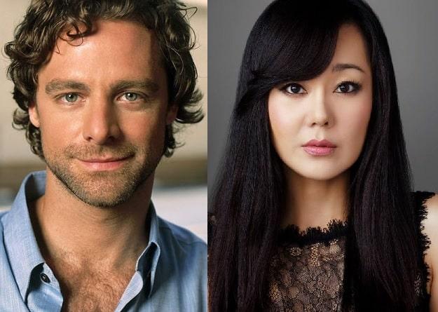 David Sutcliffe y Yunjin Kim
