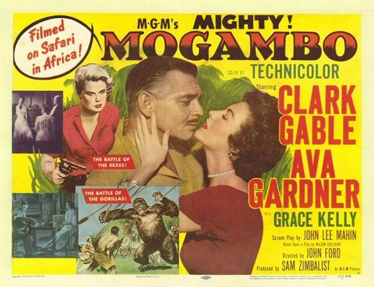 Cartel original de Mogambo