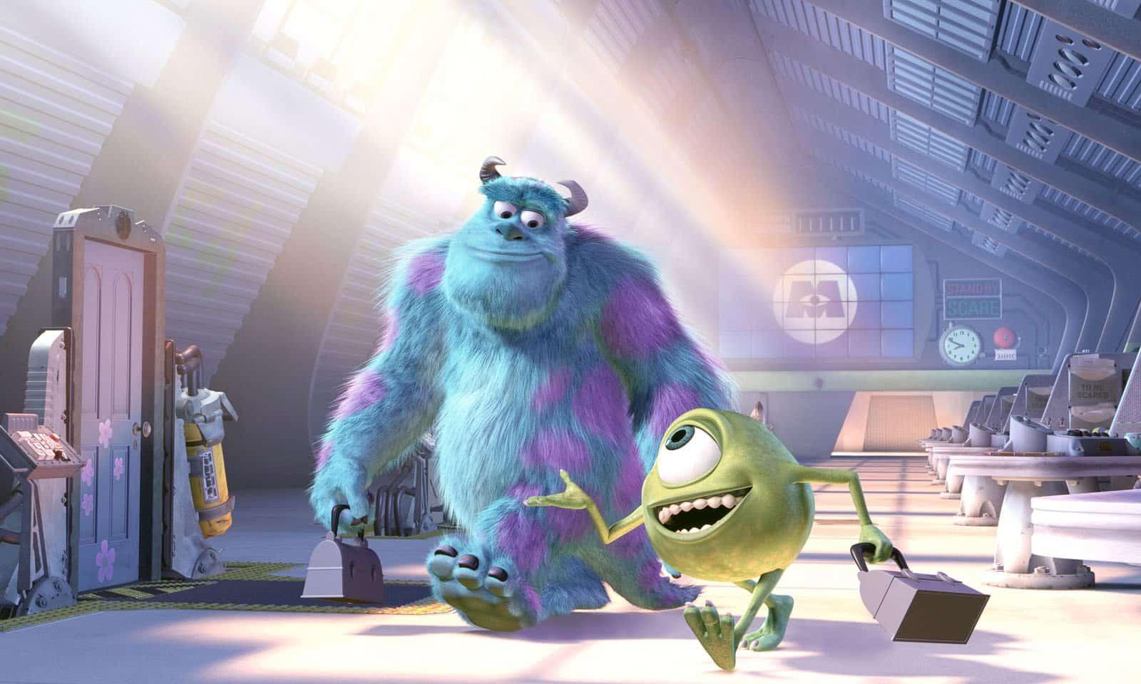 Escena de Monsters Inc.