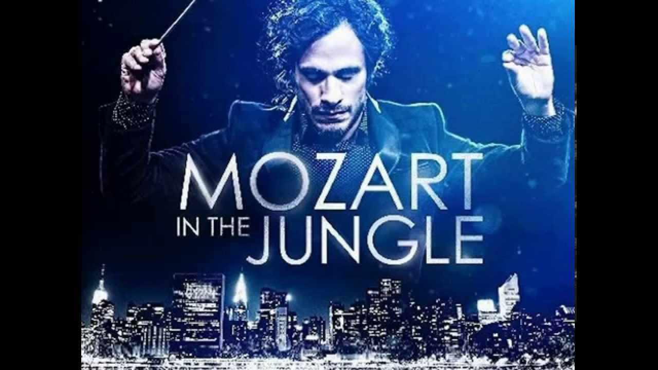 Imagen promocional de Mozart in the Jungle, show original de Amazon, ganador de los Golden Globe Awards. Imagen promocional de los Golden Globe Awards 2016, show de premiaciones que tuvo su evento y reveló a todos los ganadores de este año. Entre los principales ganadores están: The Martian, Mozart in the Jungle, Mr. Robot y The Revenant, además de muchos más.