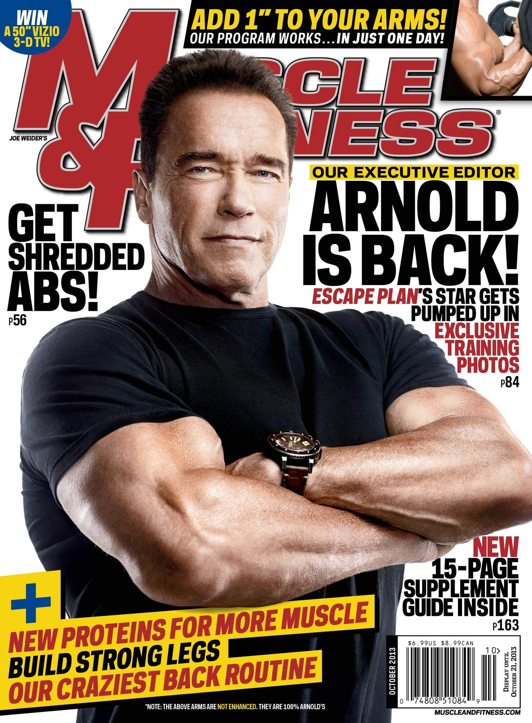 """""""Muscle & Fitness"""" Octubre 2013"""