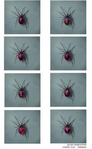 mutant_spider_variations