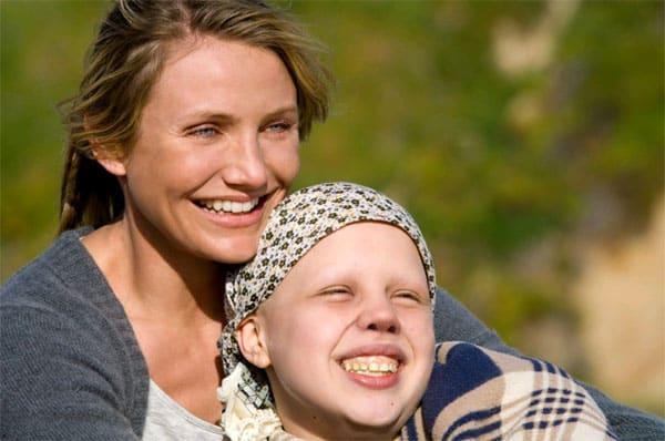 """Cameron Diaz ofrece una actuacion excepcional como madre de una niña enferma de cáncer en """"My Sister´s Keeper""""."""