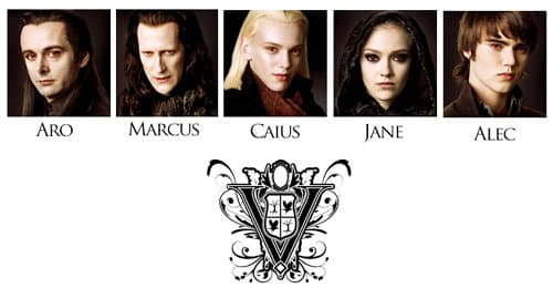 "Clan Volturi ""New Moon"""